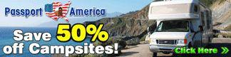 Passport America, Save 50% on Campsites