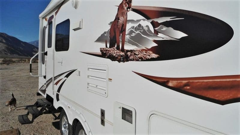 Cougar trailer sidewall