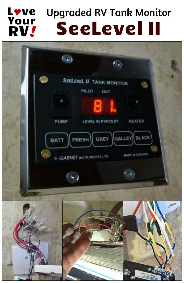 Rv Electrical System Monitor : Upgrading my rv tank level monitoring system