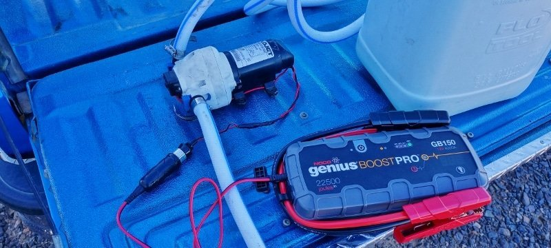 DIY Remote water pump