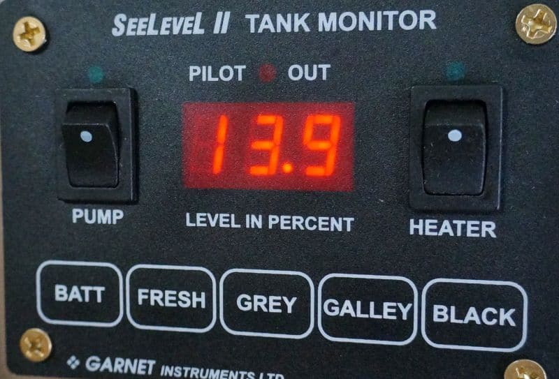See Level voltage reading