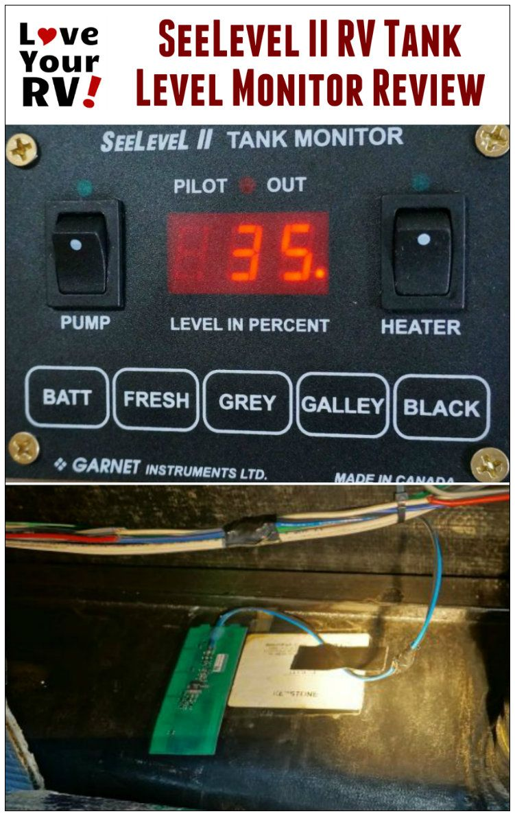 SeeLevel II RV Holding Tank Level Monitor Review by the Love Your RV blog - http://www.loveyourrv.com/