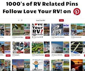 Follow Love Your RV on Pinterest