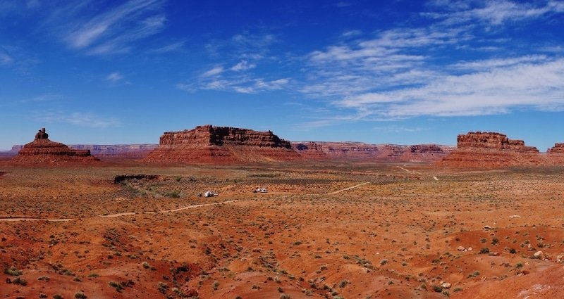 Boondocked in the Valley of the Gods Utah