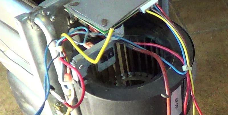 Suburban SF-30F RV furnace squirrel cage fan