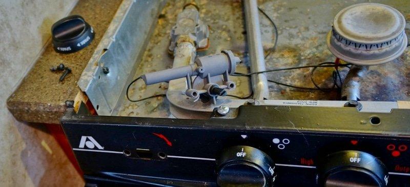 Old mechanical sparker