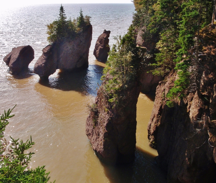 Bay Of Fundy Camping >> Our visit to the Bay of Fundy and Hopewell Rocks - Love ...