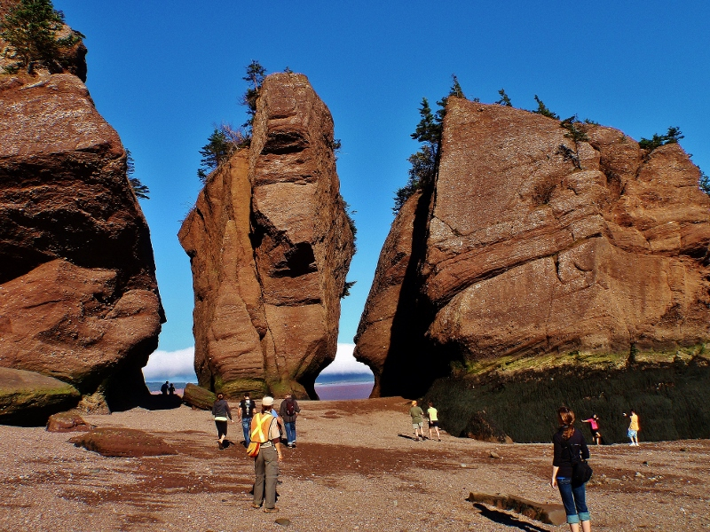 Bay Of Fundy Camping >> Our Visit To The Bay Of Fundy And Hopewell Rocks Love Your Rv
