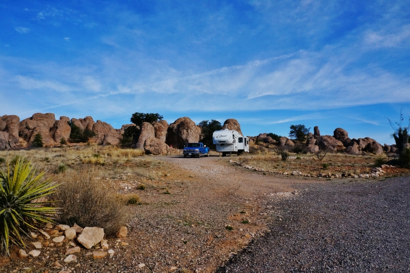 Camping At City Of Rocks State Park