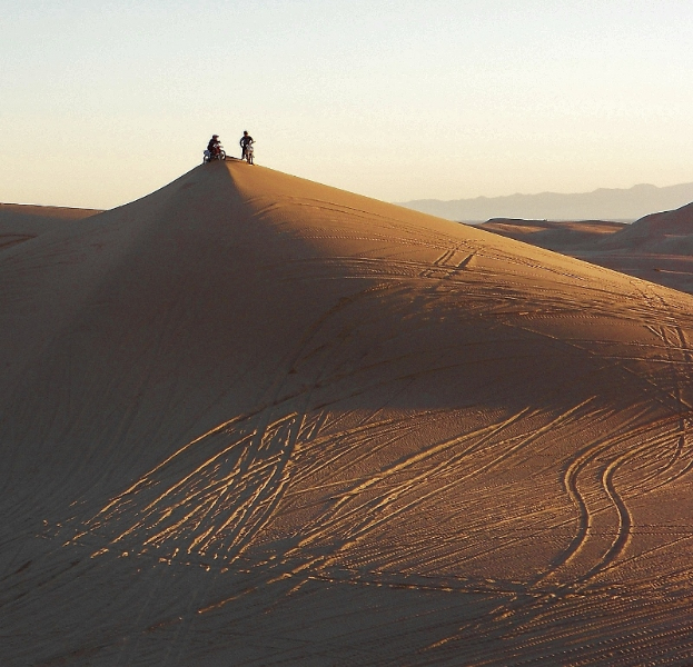 Dry Camping At Glamis Dunes In Imperial Dunes Recreation Area