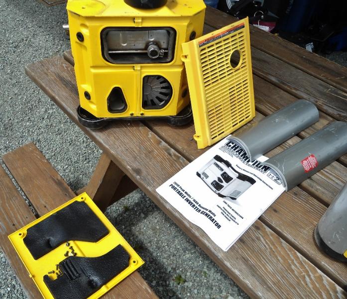 Champion 2000 Watt Inverter Generator Love Your Rv Review Article
