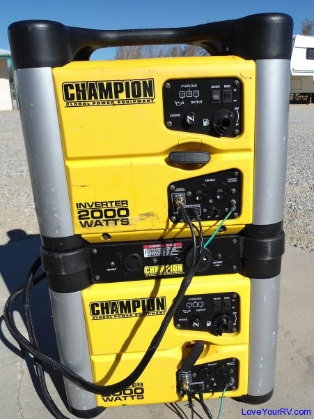 Champion 2000 Watt Inverter Generator - Love Your RV review