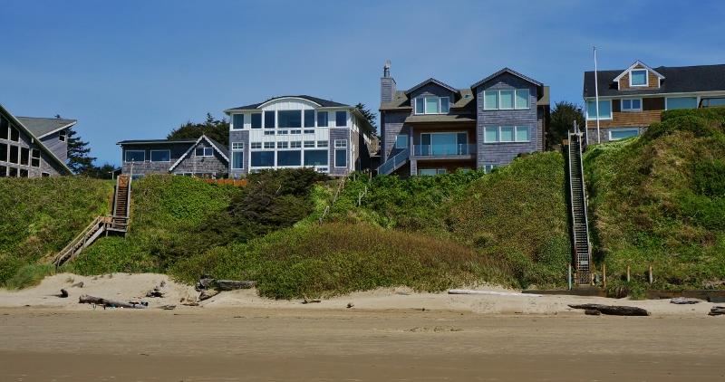 Nice Houses Along Cannon Beach Love Your Rv Blog Photo Galleries