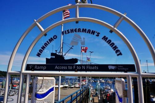 Nanaimo BC Harbor