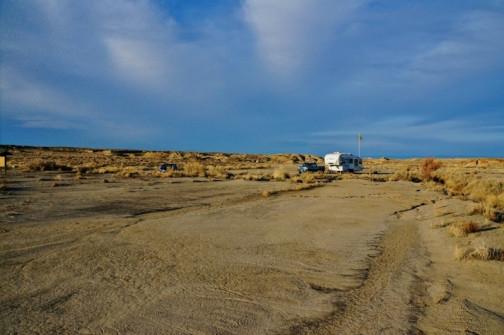 Bisti Badlands BLM Dry Camping