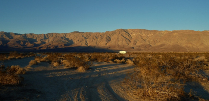 Boon-docking-Anza-Borrego State Park, California