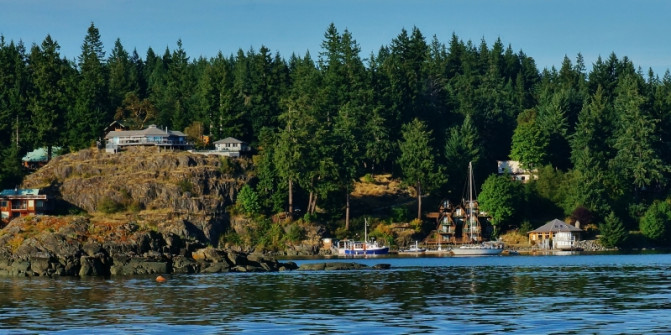 Quadra Island cottages