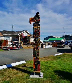 Totem in the Thunderbird RV Park