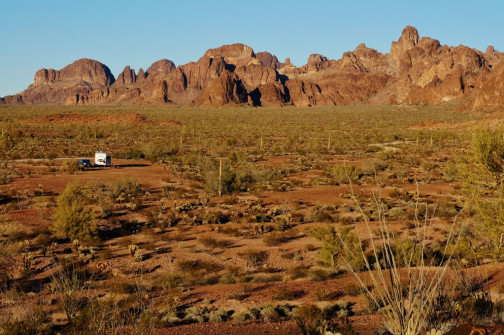 Boondocked in the Kofa NWR