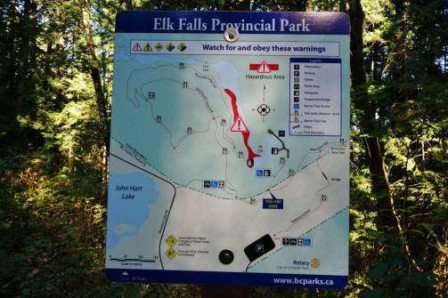 Elk Falls and Quinsam Hatchery 3