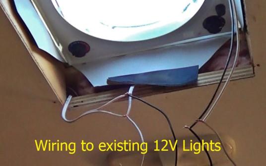 Fantastic Fan wiring