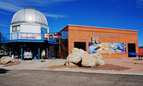 Kitt Peak Observatory visitor center