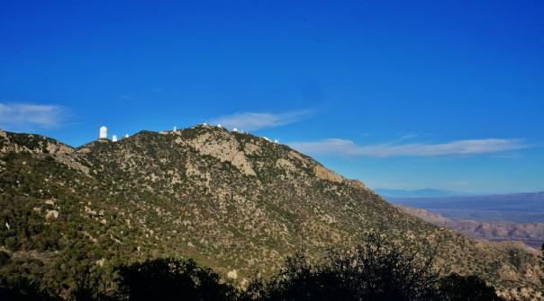 Kitt Peak telescope domes