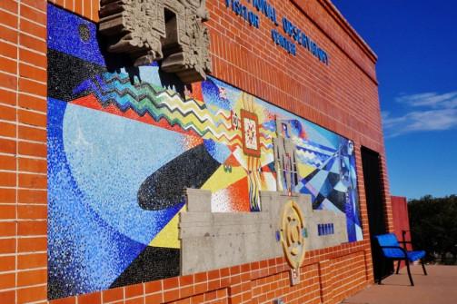 Kitt Peak tiled art