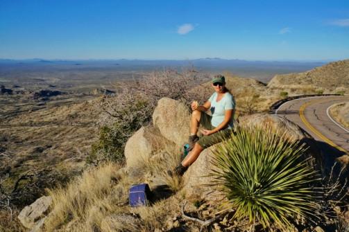 Picnic lunch at Kitt Peak Arizona