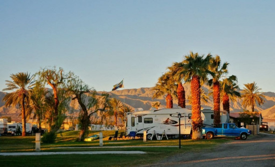 Sunrise at Oasis Palms RV Park
