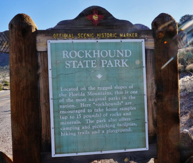 Rock Hound State Park in New Mexico (6)