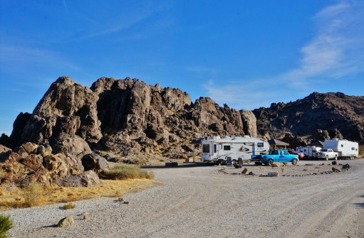 Sawtooth Canyon BLM Campground California 7