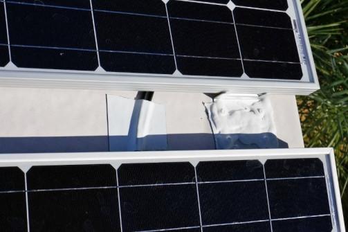 Solar panel mounts