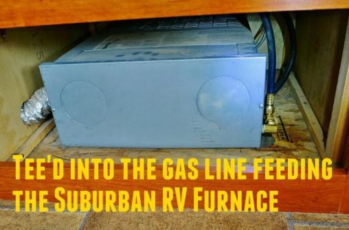 Suburban RV Furnace