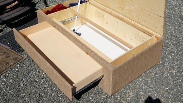 Daybed box storage