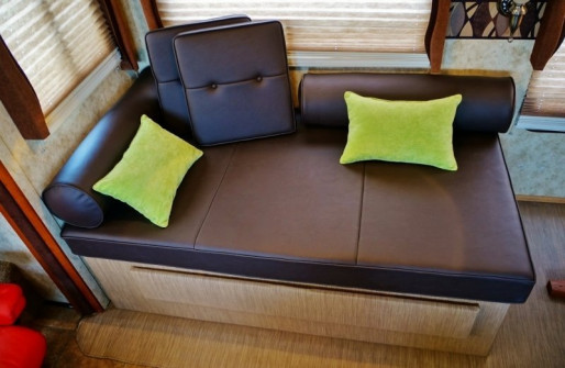 Top view of the new daybed