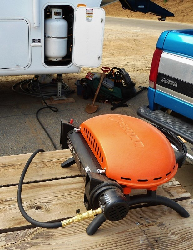 O-grill BBQ Gas Hookup to RV