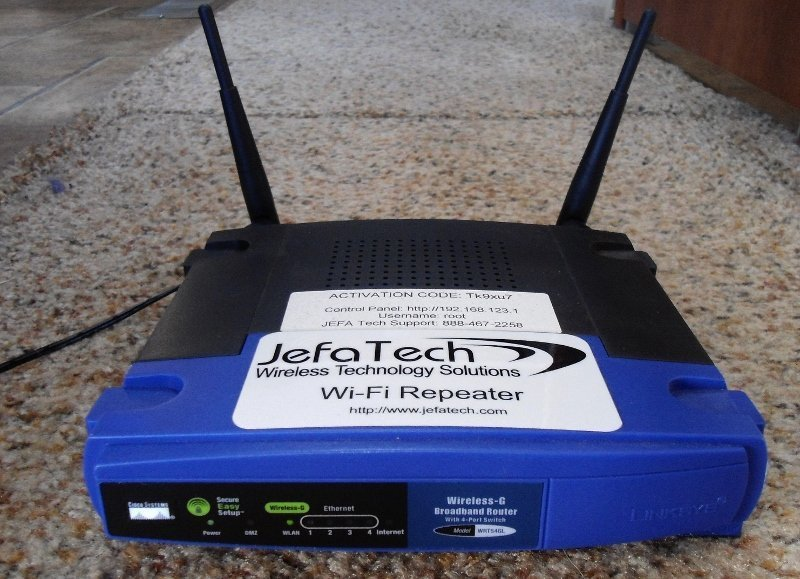 Jefatech RV WiFi Repeater