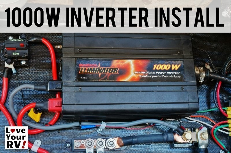 1000 watt Inverter Installation Feature Photo