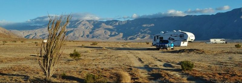 Boondocking at Anza-Borrego photo