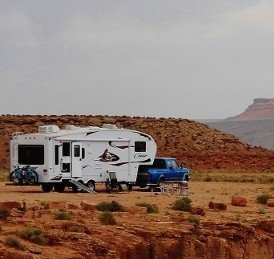RV Boondocking Photo