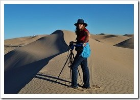 Anne at Algodones Dunes