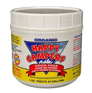 Happy Camper for RV Waste Tanks