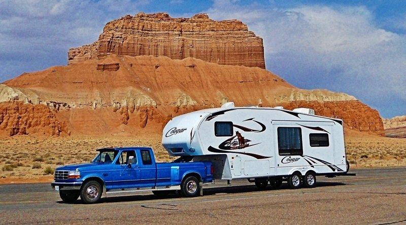 RVing in Utah