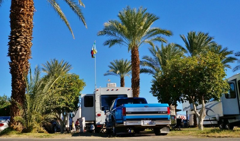 Thousand Trails RV Resort in Palm Springs