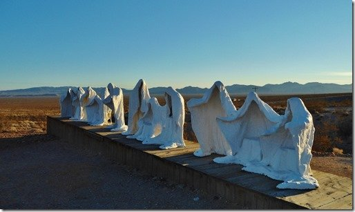 Ghost Sculpture, Rhyolite, Nevada