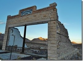 Rhyolite, Nevada, Ghost Town