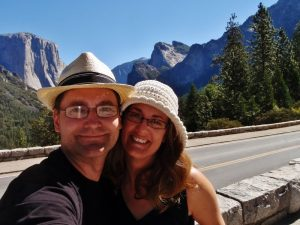 Us in Yosemite National Park