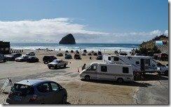 Cape Kiwanda beach parking