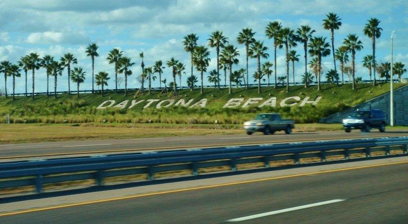 Interstate 95 near Daytona Beach FLA